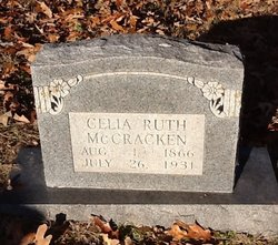 Celia <I>Ruth</I> McCracken