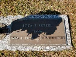 Etta F. Petzel