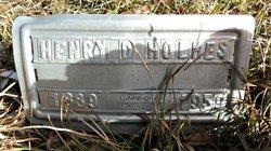 Henry D Holmes