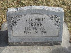Vica <I>White</I> Brown