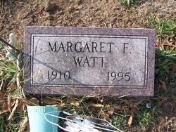"""Margaret F. """"Peg"""" Watt"""