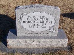 Thelma Norita <I>Clapp</I> Haydock-Williams