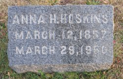 Anna Turner <I>Hollingsworth</I> Hoskins