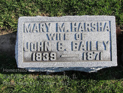 Mary Margaret <I>Harsha</I> Bailey