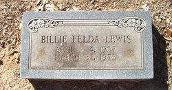 Billie Felda <I>Carpenter</I> Lewis