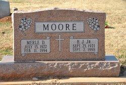 Merle Delores <I>Mitchell</I> Moore
