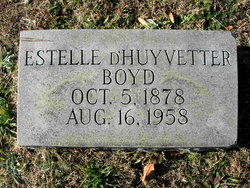 Estelle <I>D'Huyvetter</I> Boyd
