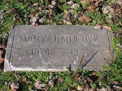 "Mary Katherine ""Katie"" <I>Driskill</I> Eblen"