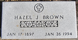 Hazel Julia <I>Klapperich</I> Brown