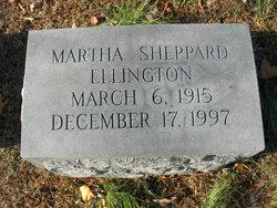 Martha E <I>Sheppard</I> Ellington