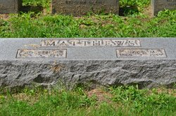 Lizzie May <I>Johnson</I> Matthews