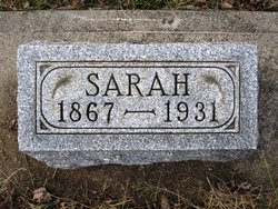"""Sarah H """"Sallie"""" <I>Yount</I> Staggs"""