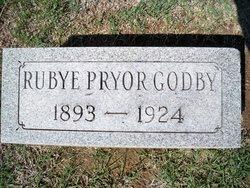 Rubye <I>Pryor</I> Godby