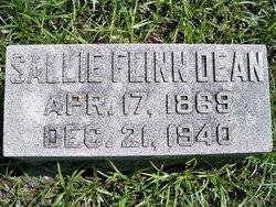 Sallie <I>Flinn</I> Dean