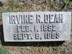Irvine R Dean