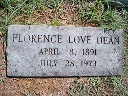Florence <I>Love</I> Dean