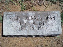 Susie <I>Swinnea</I> Dean