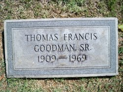 Thomas Francis Goodman, Sr