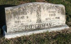 Leah Beulah <I>Hoover</I> Bauchman