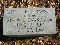 Ruth <I>Clegg</I> Dawson