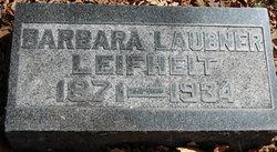 Barbara <I>Laubner</I> Leifheit