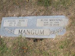 Ruth Lynn <I>Manning</I> Mangum