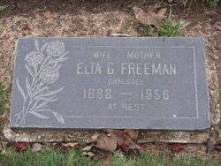Elta Grace <I>Montgomery</I> Freeman