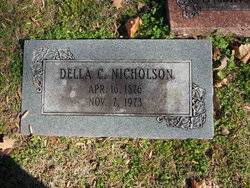 Della C <I>Chandler</I> Nicholson
