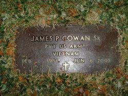 James P Cowan, Sr