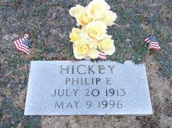 Philip E Hickey