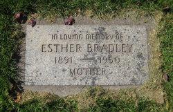 Esther <I>Vincent</I> Bradley