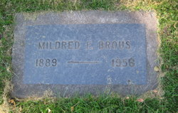 Mildred F Brous
