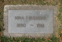 Nina J <I>Carr</I> Bulmore