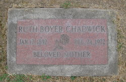 Ruth Boyer Chadwick