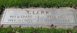 Etta May <I>Ryckman</I> Clark