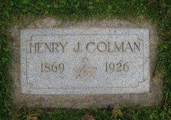Henry James Colman