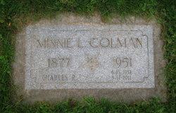 Minnie Lina Colman