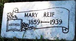 Mary <I>Beyer</I> Reif