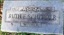 Ruth <I>Flatt</I> Scherder