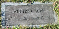 Winifred Horn