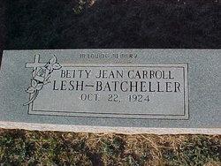 Betty Jean <I>Carroll</I> Batcheller