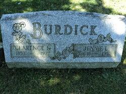 Jennie L <I>Petrie</I> Burdick
