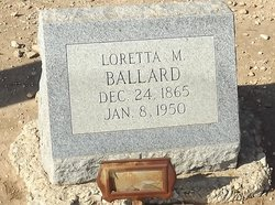 Loretta M Ballard