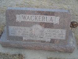 Carol Darlene <I>Glendy</I> Wackerla