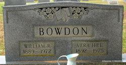 Vera <I>Hill</I> Bowdon