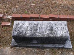 Mary Susan <I>Daniel</I> Booker