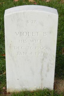Violet B <I>Atkins</I> DeFraties