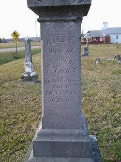 Mary Eliza <I>Arrington</I> Purdum