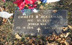 Emmett B Ackerman