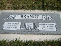 Leona <I>Jackson</I> Brandt